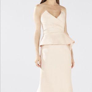 BCBGMAXAZRIA Gracie Peplum gown